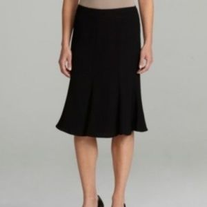 Peter Nygard Fit and Flare Pencil Skirt Black
